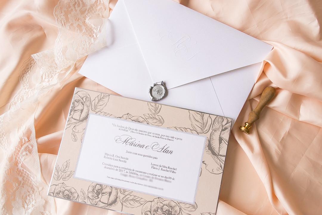 Quantidade de convites de casamento