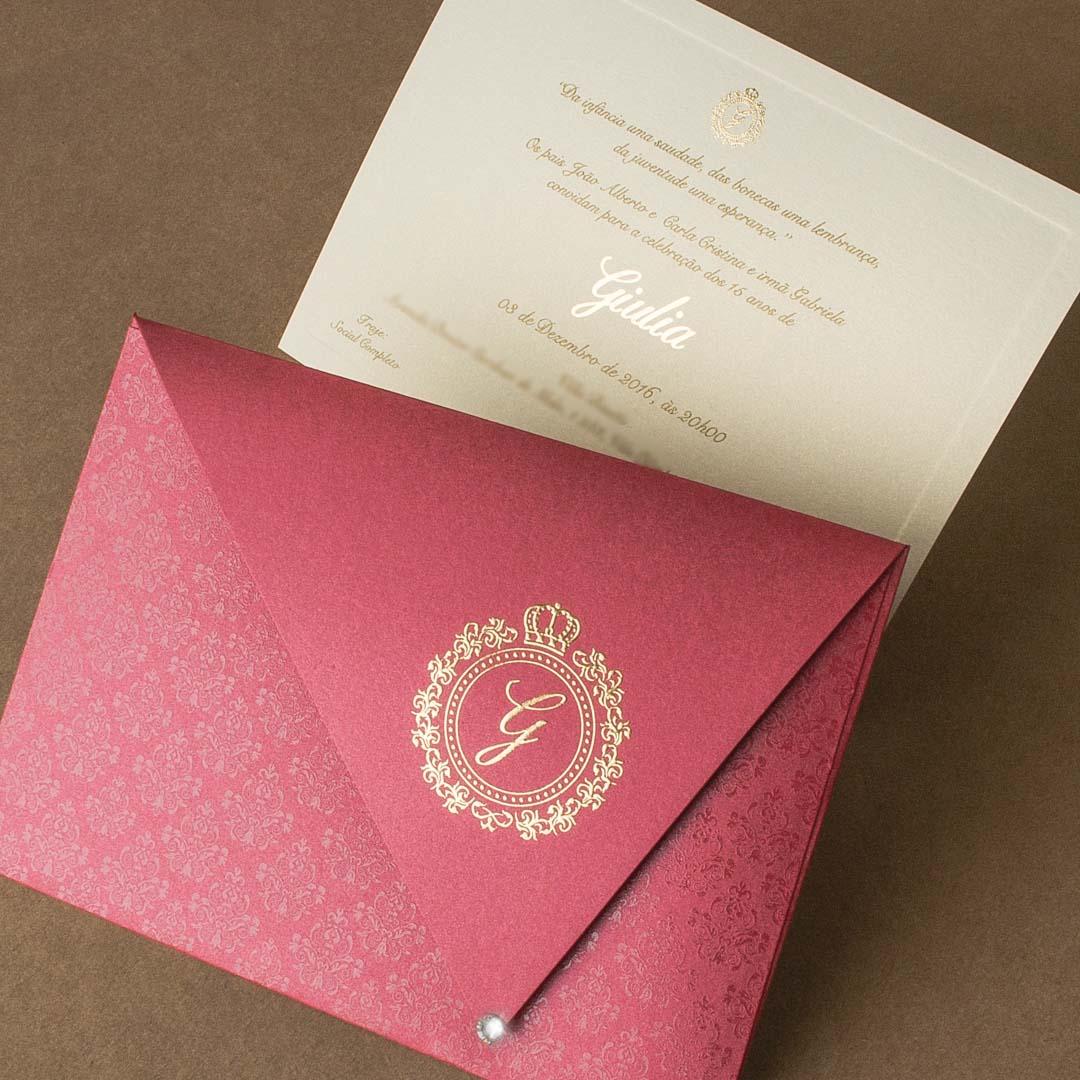 Convites 15 Anos Dicas Para Escolher O Convite De Debutante