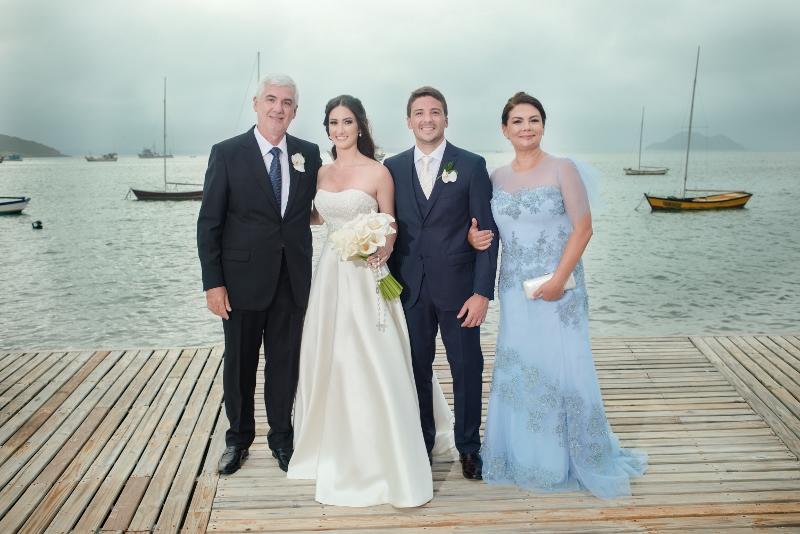 Fotos com pais dos noivos