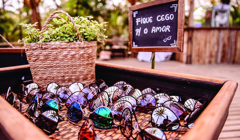 óculos de sol para casamento