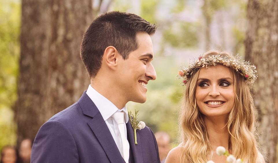 Fotos de Casamento | Troca de olhares na cerimônia