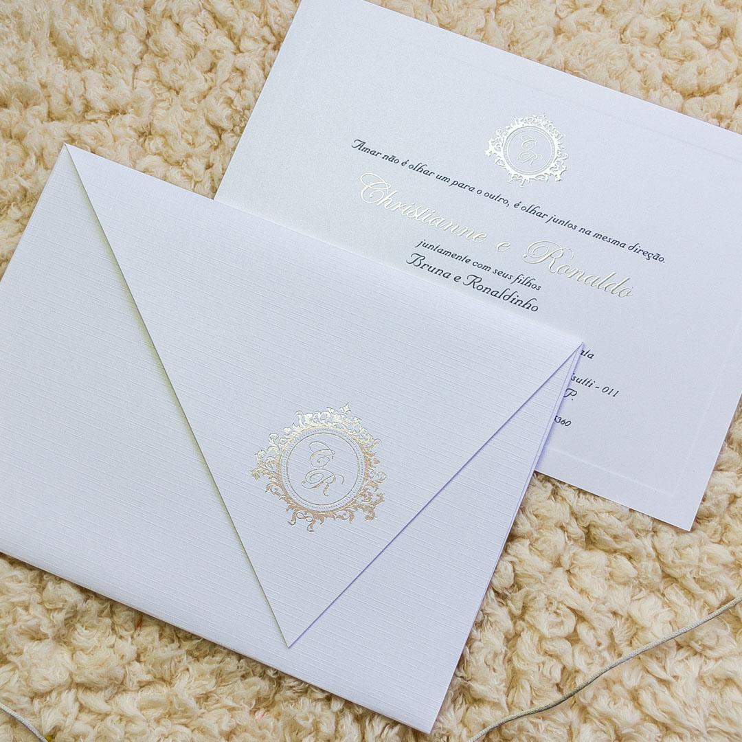 convite de bodas de prata