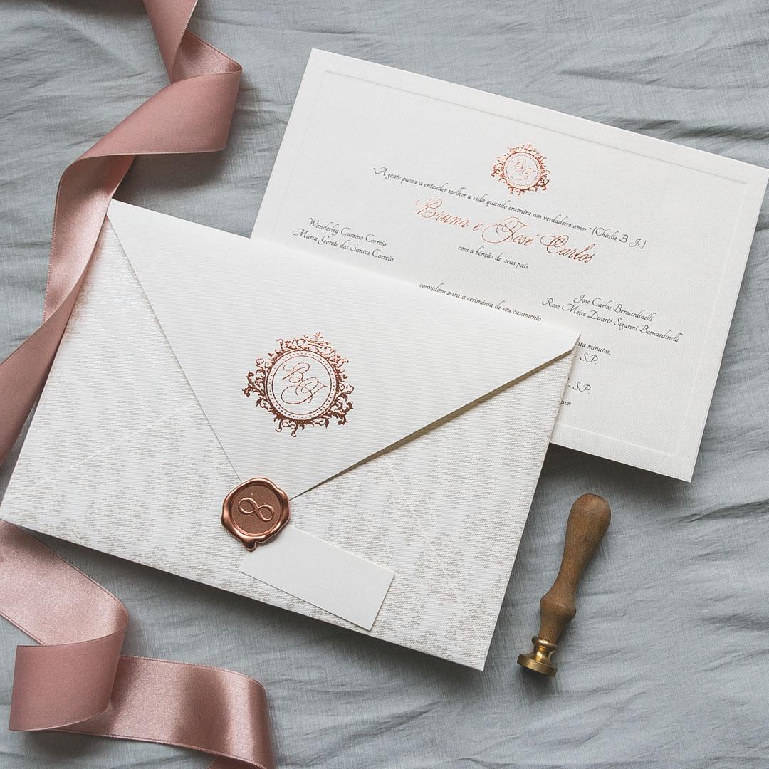 41aa0a5c2 Convites de Casamento - Papel e Estilo