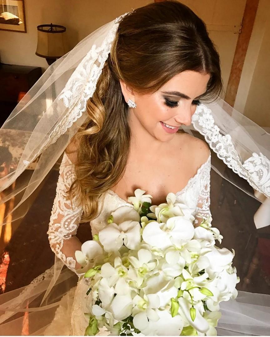 Penteado De Noiva Cabelo Solto 08 2 Convite Papel E Estilo