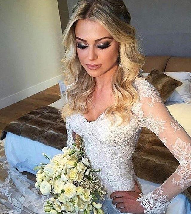 Penteado De Noiva Cabelo Solto 08 6 Convite Papel E Estilo