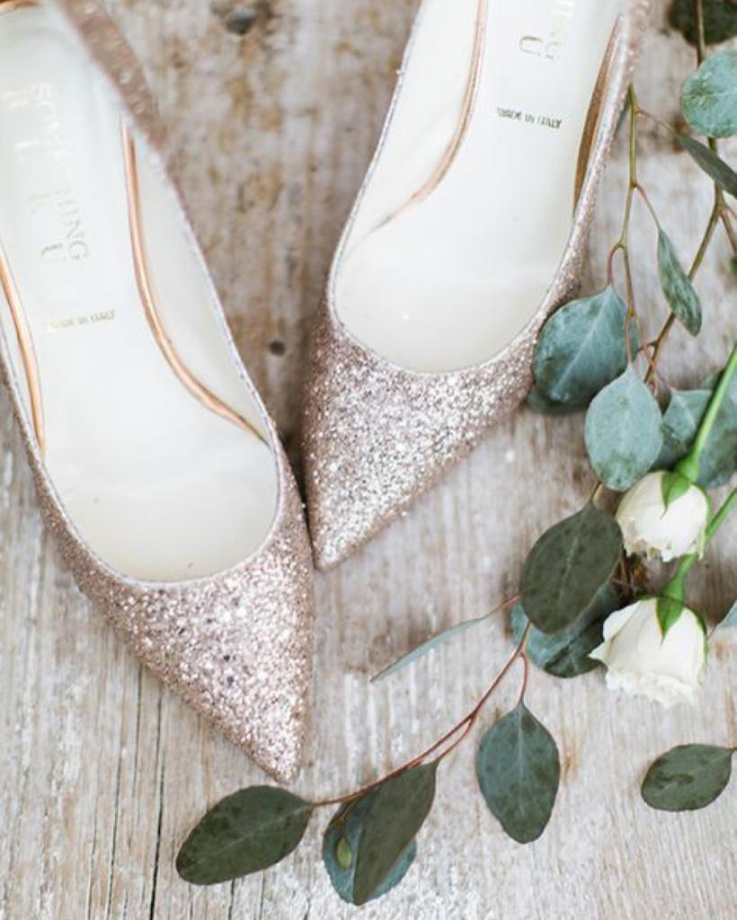 Sapato de noiva clássico