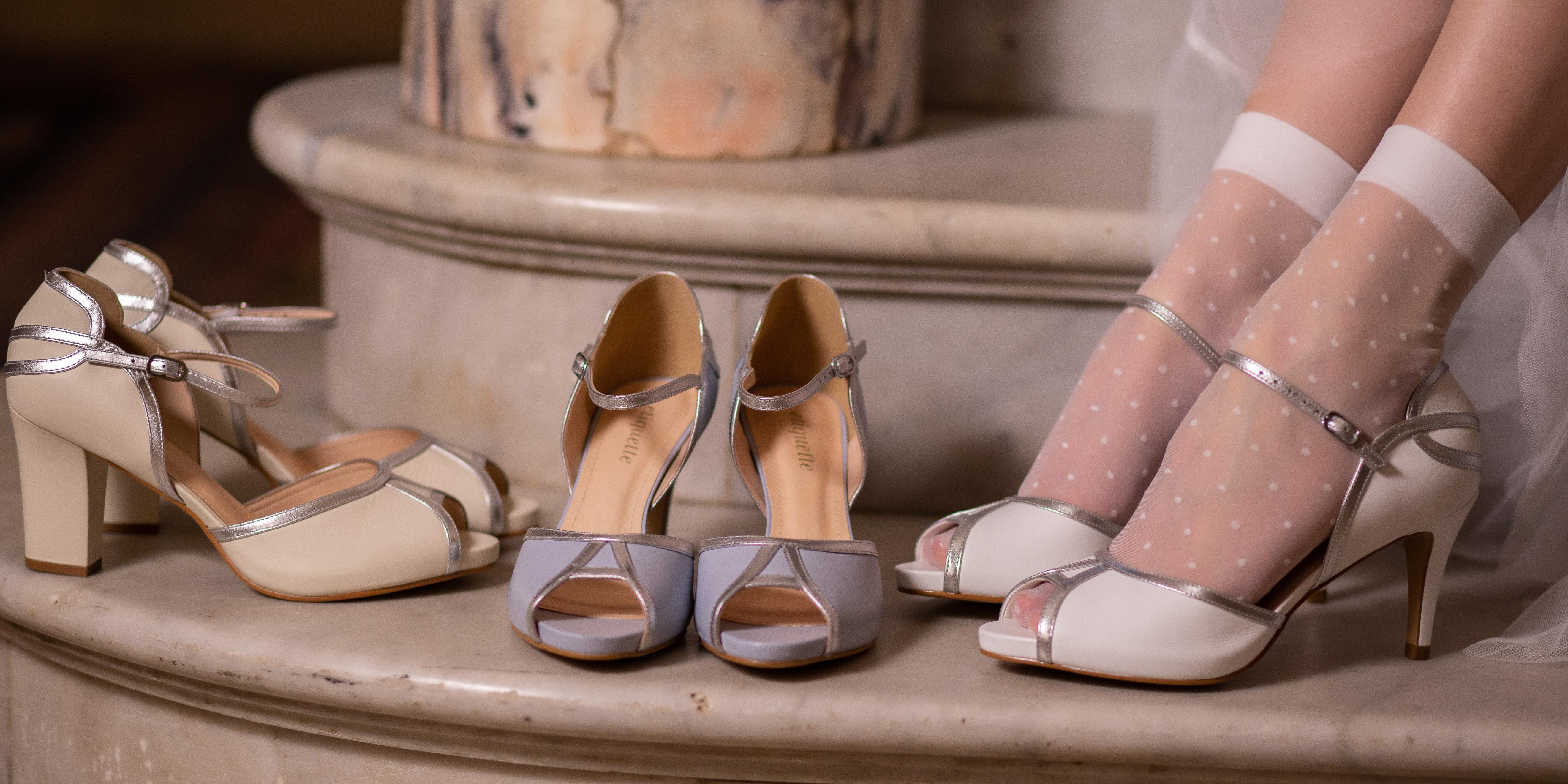 Sapato de noiva: Foto: Carol Noel Wedding