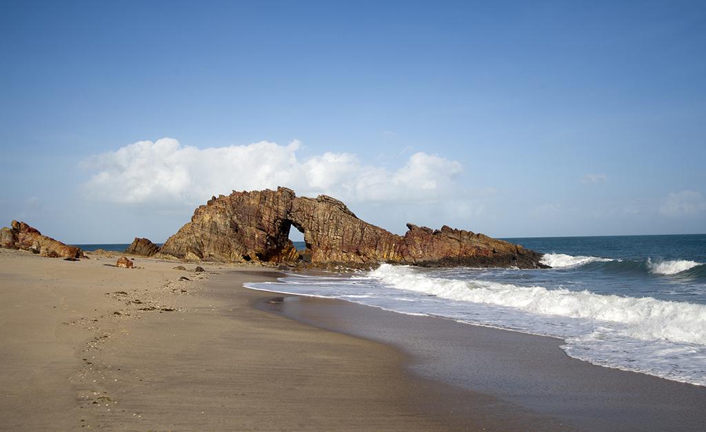 Pedra Furada in Jericoacoara Brazil
