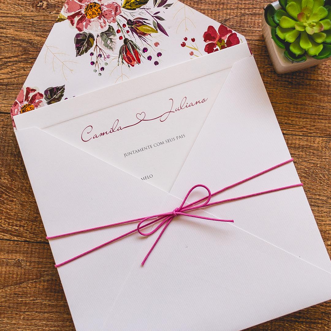 Convite de casamento de dia