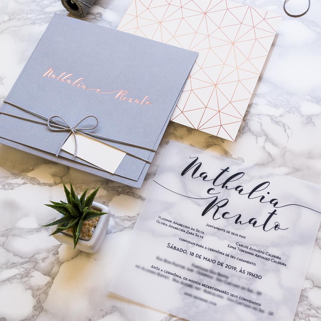 Papelaria de casamento - Convite