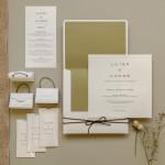 Convite de casamento – Oliva