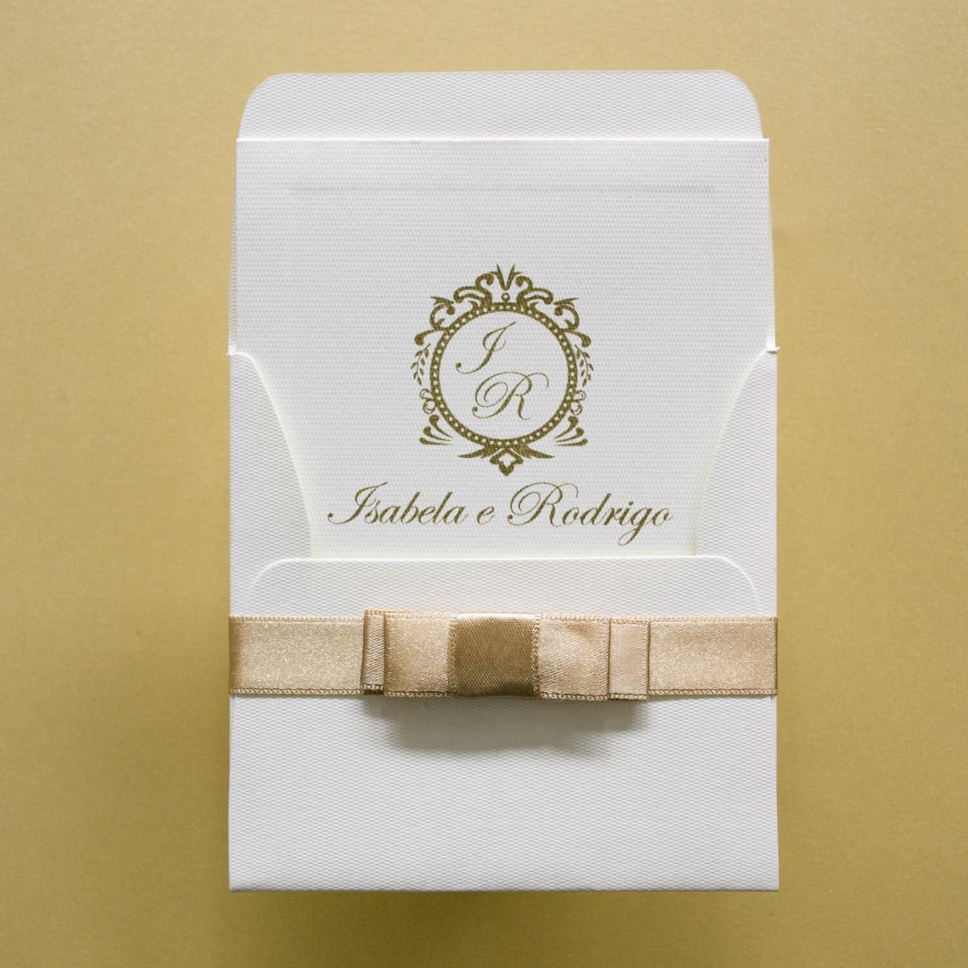 Cartão de agradecimento para padrinhos casamento