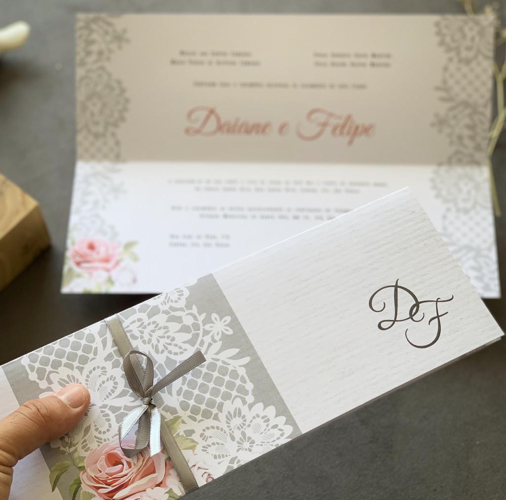 Convites de casamento barato